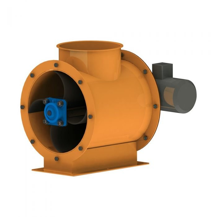 DUST CYCLONES AND ROTARY AIRLOCK VALVES