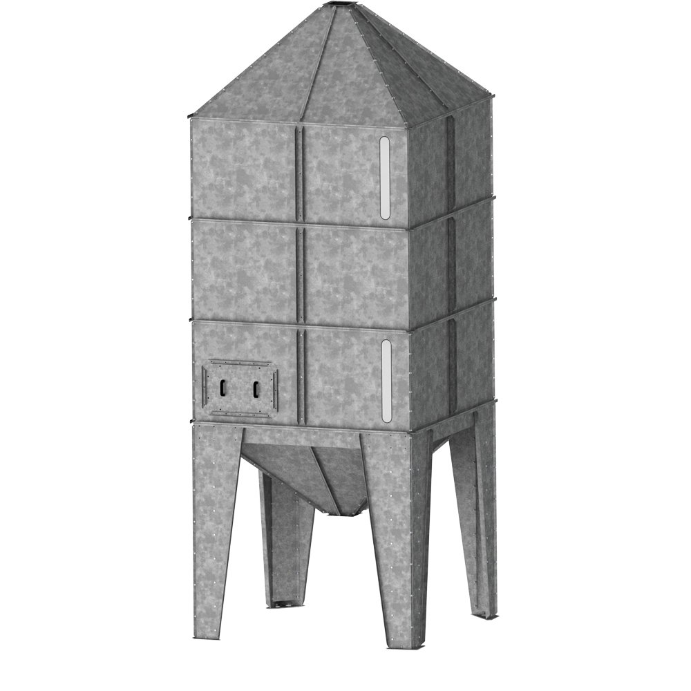 SQUARE HOPPER SILO