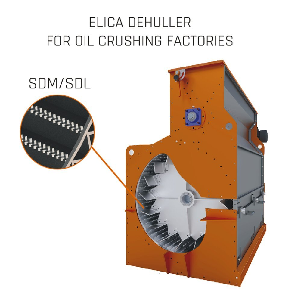 DEHULLER FOR OIL CRUSHING