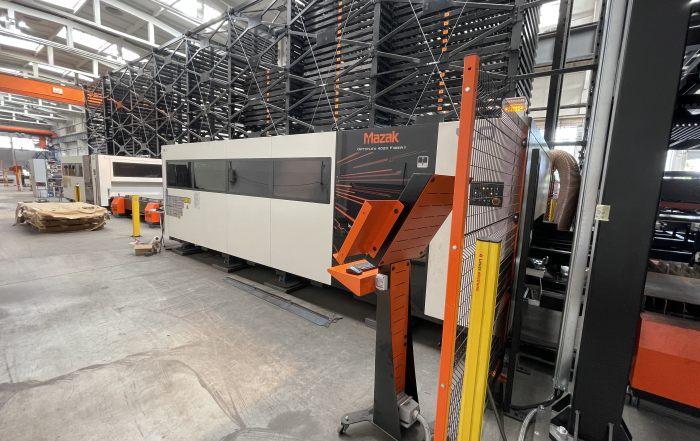 Elica - Автоматизирана система за зареждане и сваляне на листов материал